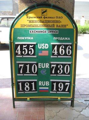 База курсов валют